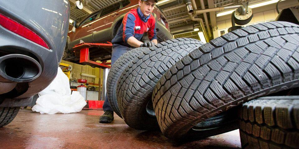 как самостоятельно заменить шины