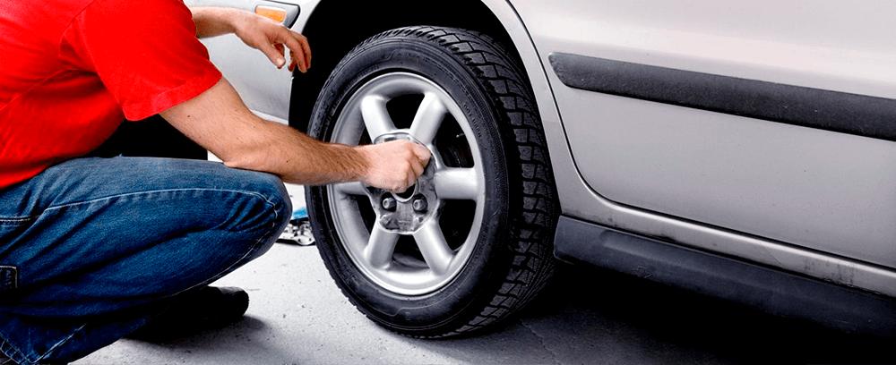 как самойтоятельно заменить шины