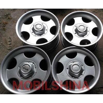 R16 8 5/150 110.1 ET0 Alessio Daytona Silver литой