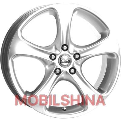 R16 7 5/110 65.1 ET38 Alessio MonteCarlo Silver литой