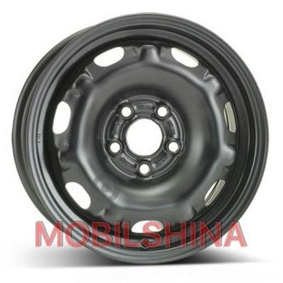 R14 6 5/100 57.1 ET37 ALST (KFZ) 7250 Skoda черный стальной