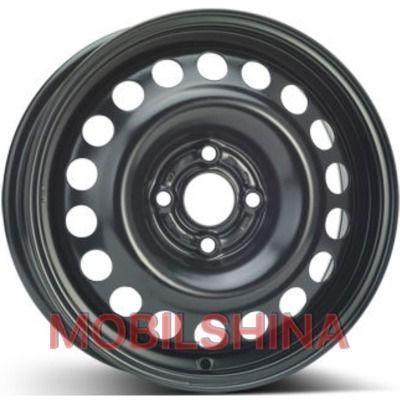 R15 6 4/100 56.6 ET49 ALST (KFZ) 8390 Opel Black стальной