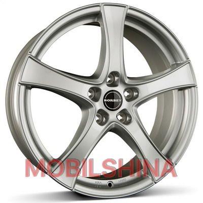 Диски R16 6 5/98 58.1 ET37 BORBET F2 brilliant silver литой