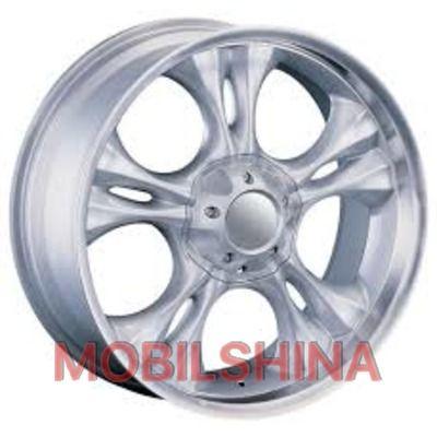 R18 9 6/139.7 110.1 ET30 CAM 249 Silver литой
