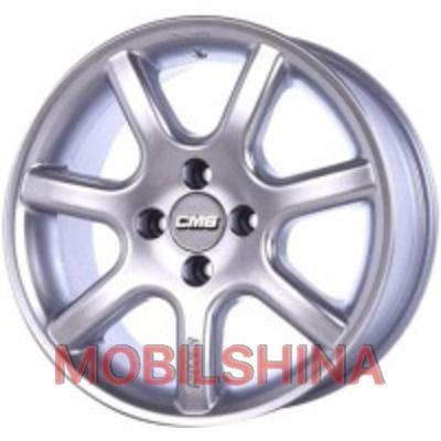 R15 7.5 5/120 74.1 ET11 CMS 142 Silver литой