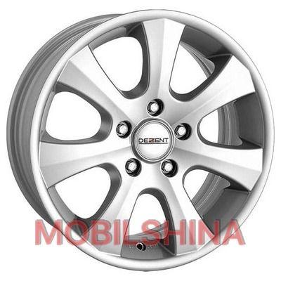 R16 7 5/120 74.1 ET20 Dezent K Silver литой