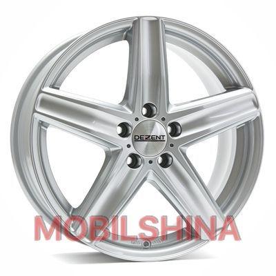 Диски R16 7.5 5/112 66.6 ET35 Dezent TG Silver литой