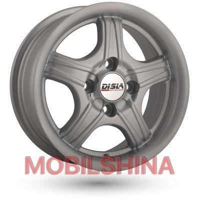 R13 5.5 4/100 67.1 ET30 Disla Star Silver литой