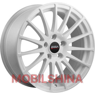 Диски R17 7.5 5/112 66.6 ET40 Disla Turismo Black литой