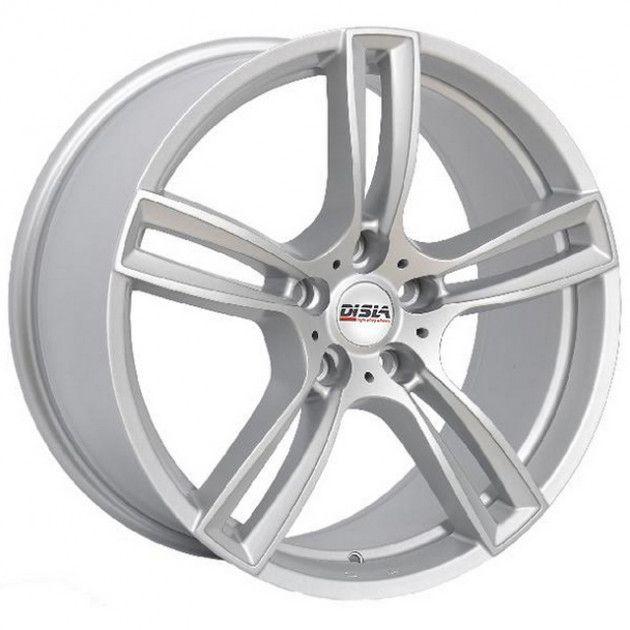 R16 7 5/112 57.1 ET40 Disla Twinstar Silver (литой)