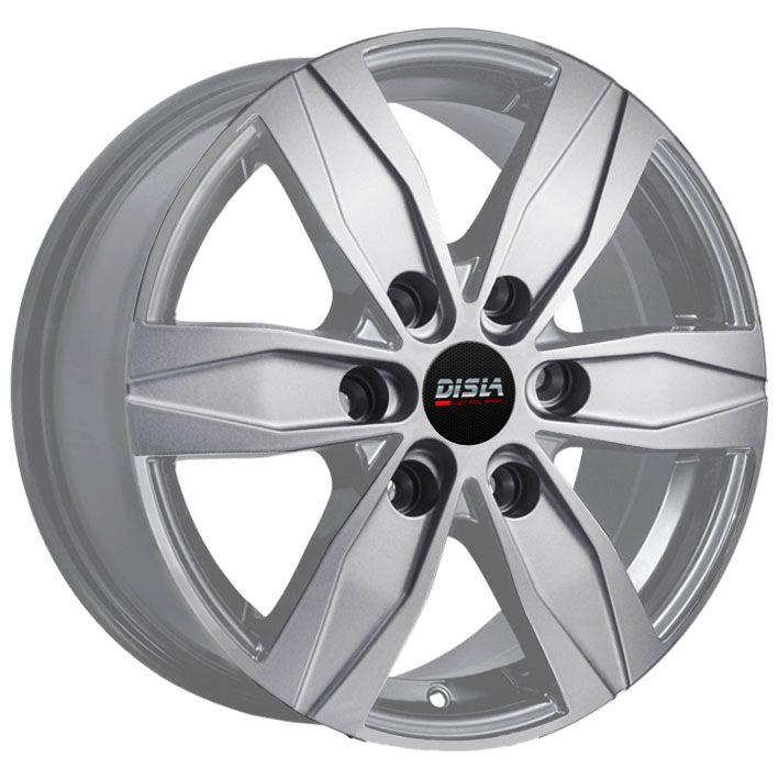 R16 7 5/130 84.1 ET55 Disla Vanline 6 Silver (литой)
