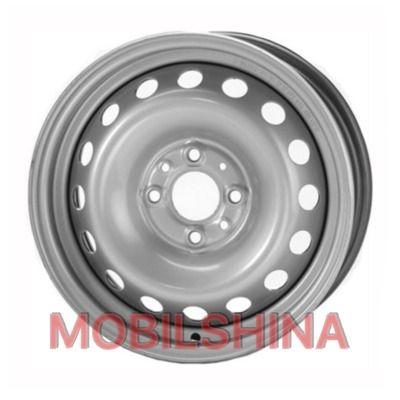 R14 5.5 4/100 60.1 ET36 Евродиск 53A36C Silver стальной
