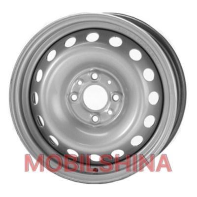R14 5.5 4/100 57.1 ET45 Евродиск 53A45D Silver стальной