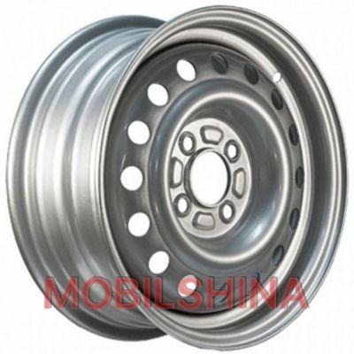 R14 5.5 4/98 58.6 ET35 Евродиск 53B35B Silver стальной