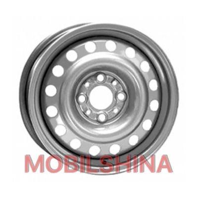 R15 6 4/100 60.1 ET50 Евродиск 64A50C Silver стальной