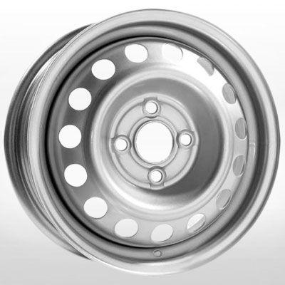 R15 6 5/110 65.1 ET35 Евродиск 64L35F Silver стальной