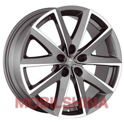 R16 7 5/120 72.6 ET42 FONDMETAL 7600 titanium polished литой