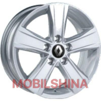R14 5.5 5/100 57.1 ET36 JH 1170 Silver литой