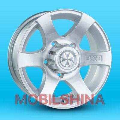 R15 6.5 5/139.7 98.6 ET20 JH L051 Silver литой