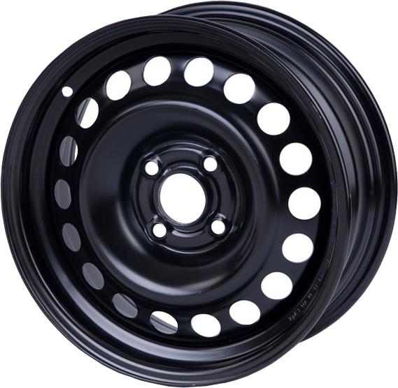 Диски R15 6.5 5/114.3 67.1 ET45 Кременчуг Geely Black стальной