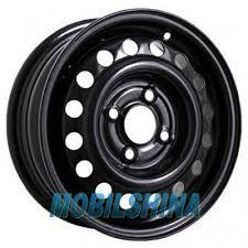 R15 6 5/110 65.1 ET49 Кременчуг К202 (Opel) Black стальной