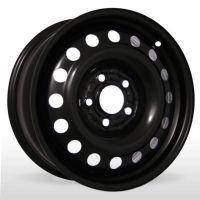 Диски R15 6 4/114.3 67.1 ET46 Кременчуг Mitsubishi Black стальной