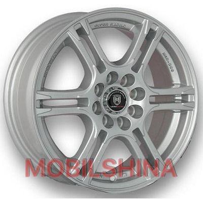 R14 6 4/100 73.1 ET35 MARCELLO MSR-006 Silver литой