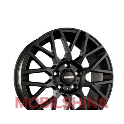 R15 6.5 5/112 72.3 ET38 Momo Revenge matt black литой
