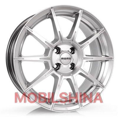 R16 7 5/114.3 72.3 ET45 Momo Rush hyper silver литой