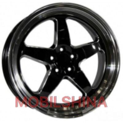 R18 8 5/100 73.1 ET42 PDW 1043 gloss black литой