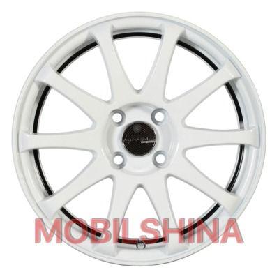 R15 6.5 4/98 58.6 ET40 PDW Race-Tek White литой