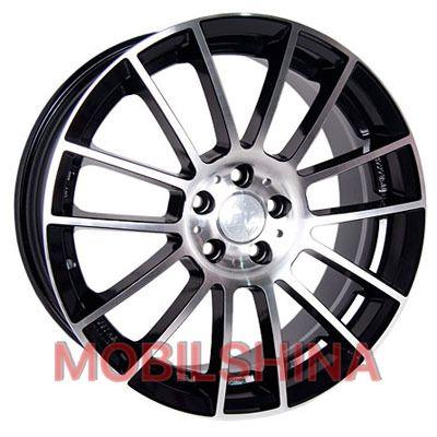R15 6.5 5/114.3 73.1 ET40 Racing Wheels H-408 BK-F/P литой