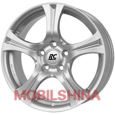 R16 7.5 5/112 66.6 ET45.5 RC Design RC-14 Silver литой