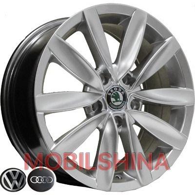 R16 7 5/112 57.1 ET43 Replica Audi (D015) HS литой