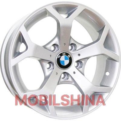 R16 7 5/120 74.1 ET18 Replica BMW (A-F712) Silver литой