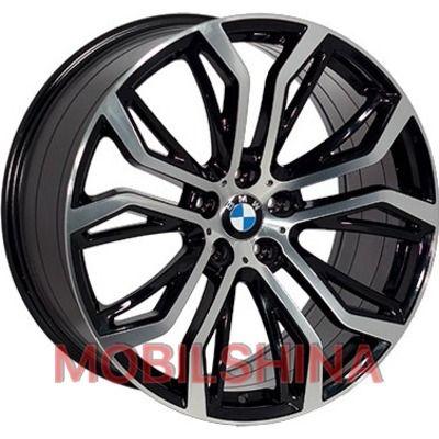 R21 10 5/120 74.1 ET40 Replica BMW (FR528) BKF литой
