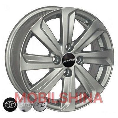 R15 5.5 4/100 54.1 ET45 Replica Hyundai (BK736) Silver литой