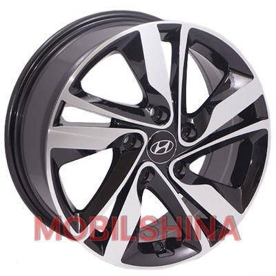 R16 6.5 5/114.3 67.1 ET46 Replica Hyundai (BK813) BP литой
