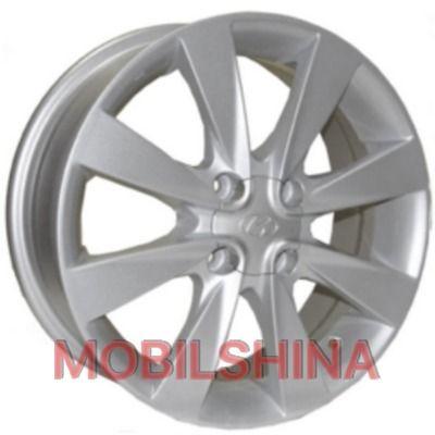 R15 6 4/100 54.1 ET43 Replica Hyundai (Z457) Silver литой