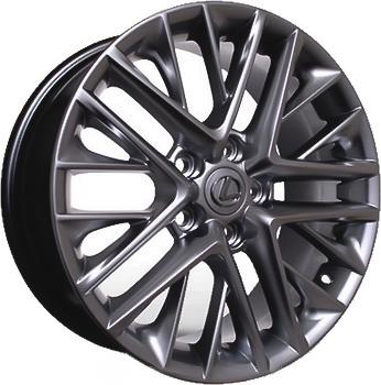 Диски R17 7 5/114.3 60.1 ET35 Replica Lexus (LX5086) HB литой