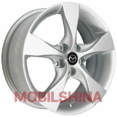 R17 7 5/114.3 67.1 ET50 Replica Mazda (MZ597) Silver литой