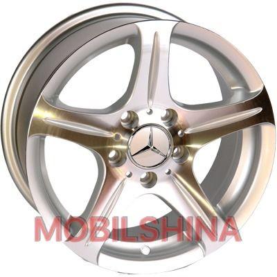 R16 7.5 5/112 66.6 ET35 Replica Mercedes (145) BP литой