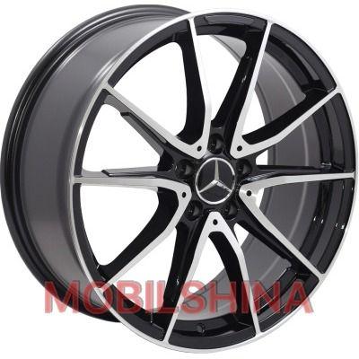 R19 8 5/112 66.6 ET45 Replica Mercedes (BK5015) BP литой