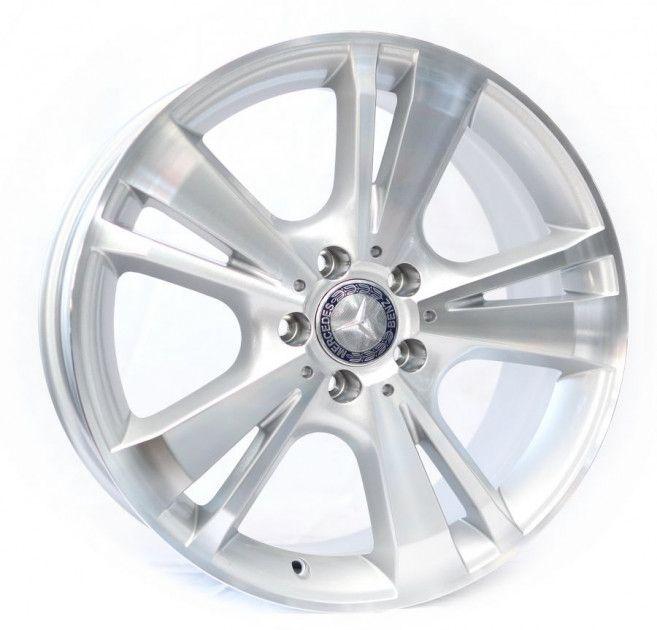 Диски R18 8.5 5/112 66.6 ET45 Replica Mercedes (R1451) Silver
