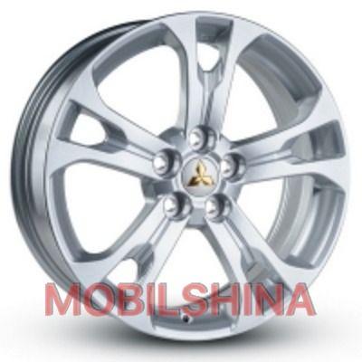 R18 7 5/114.3 67.1 ET38 Replica Mitsubishi (JHW939) Silver литой