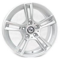 R16 7 5/112 73.1 ET45 Replica R6505 Silver литой