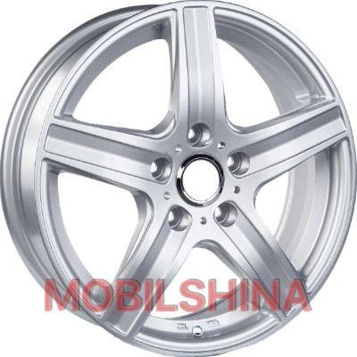 Диски R17 7 5/100 56.1 ET50 Replica Skoda (JT1702) Silver литой