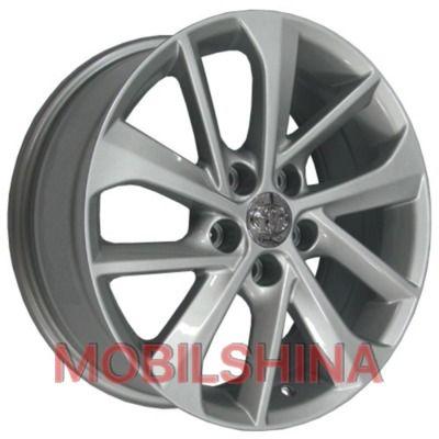 R17 7 5/100 60.1 ET38 Replica Toyota (TY5110) hyper silver литой