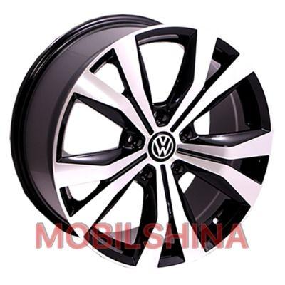 R19 8.5 5/130 71.6 ET50 Replica Volkswagen (BK526) BP литой