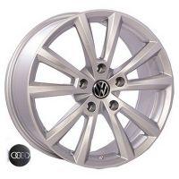 R18 8 5/130 71.6 ET45 Replica Volkswagen (VW-451) Silver литой